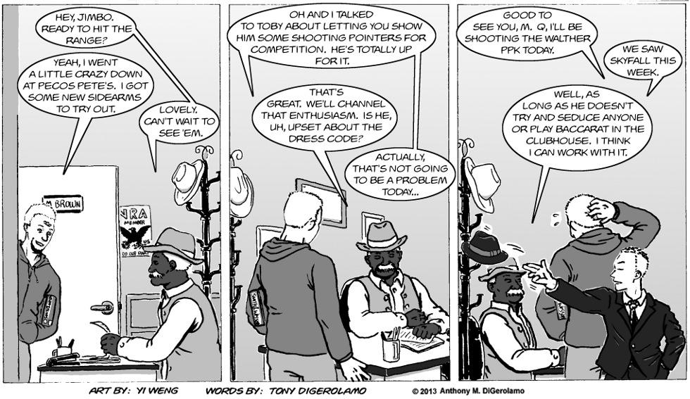 Gun Culture:  The Classiest Gunslinger