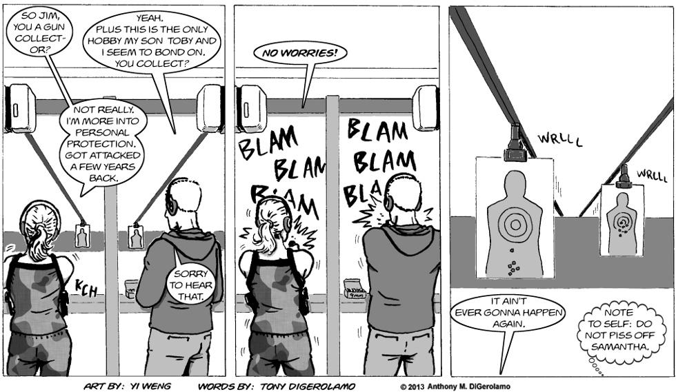 Gun Culture:  A Place to Aim