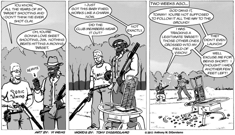Gun Culture:  Clay Pigeon
