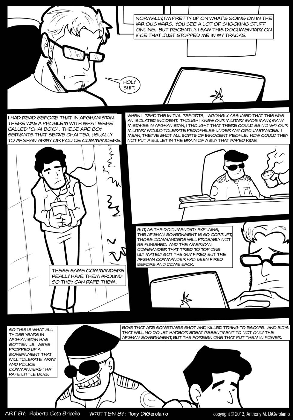 The Antiwar Comic:  Chai Boys