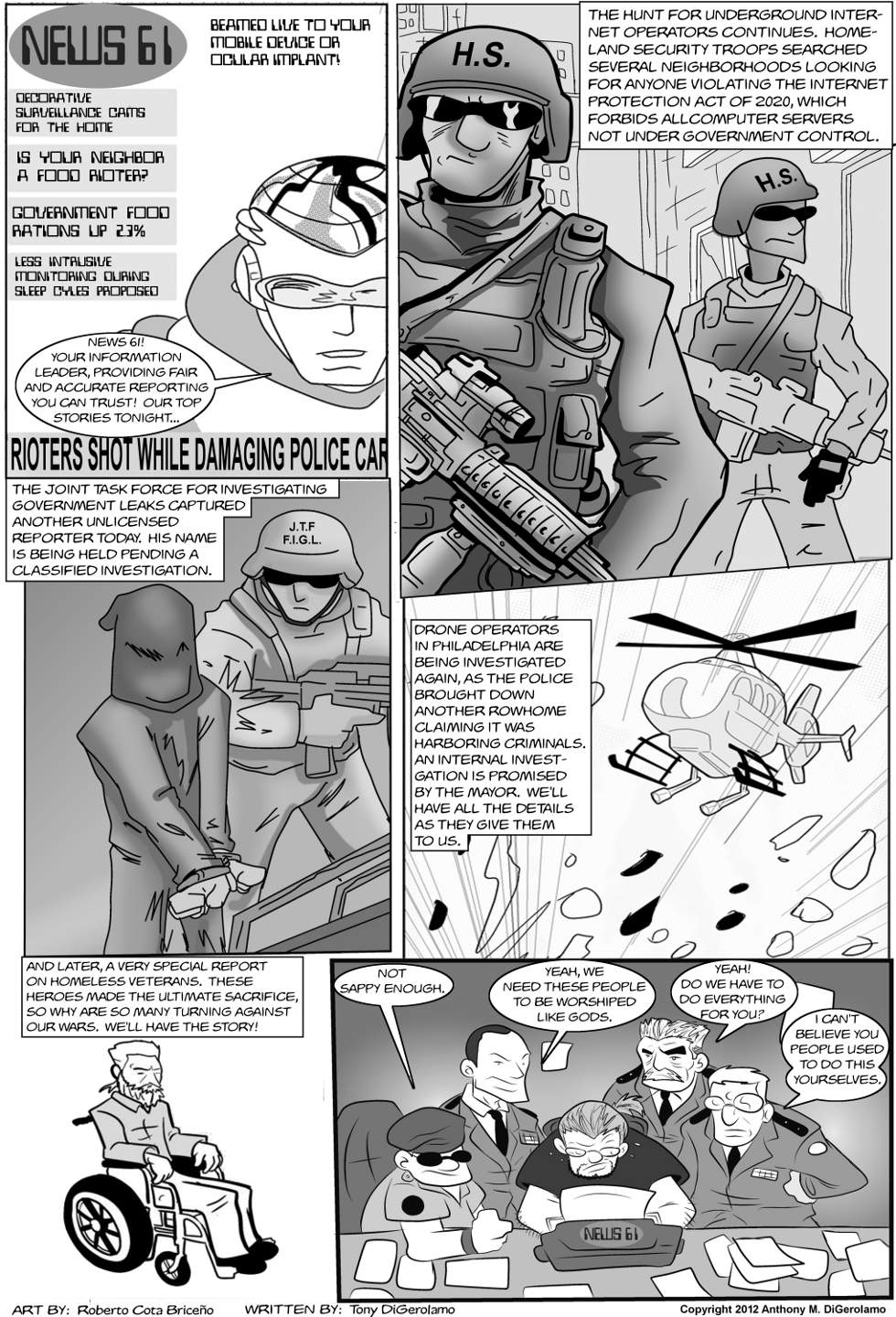 The Antiwar Comic:  The Future of Journalism