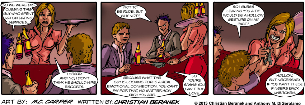 In A Relationship:  Ask the Bartender