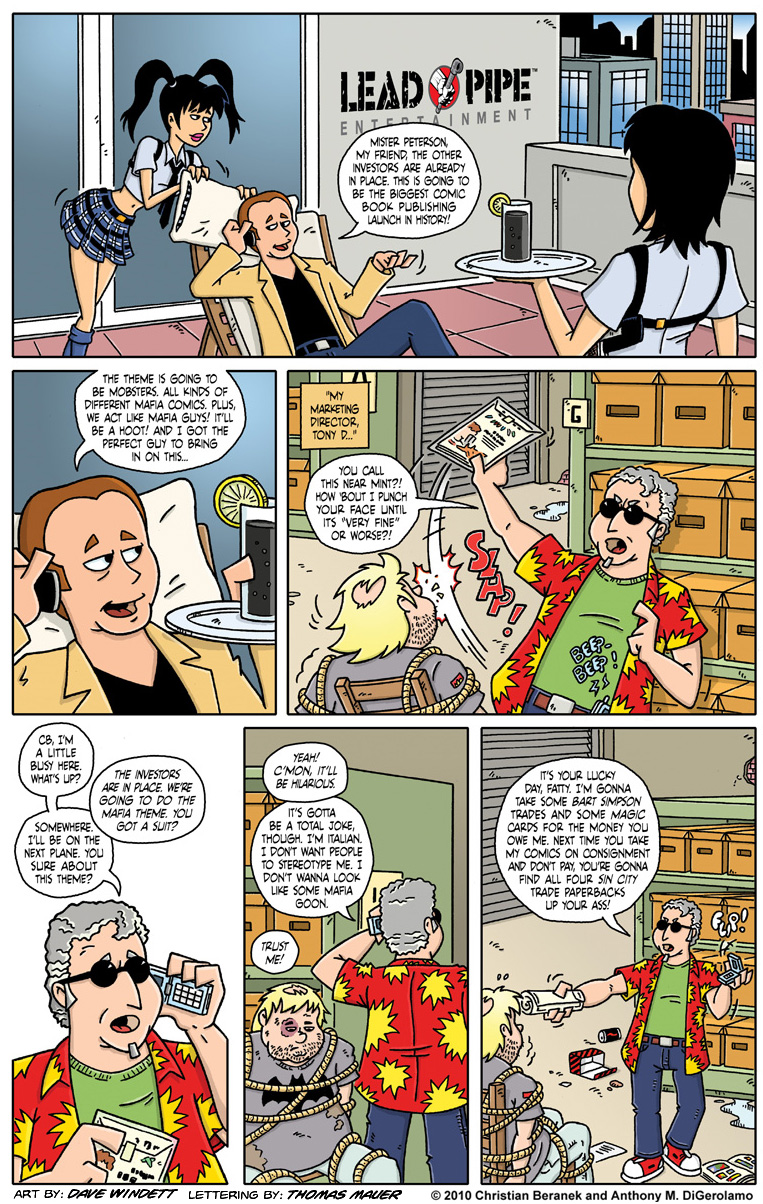 Comic Book Mafia