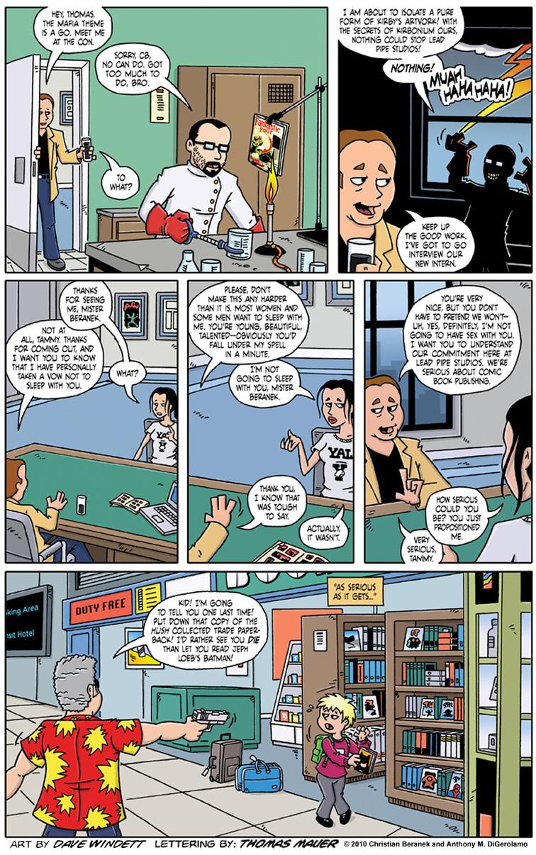 Comic Book Mafia #2