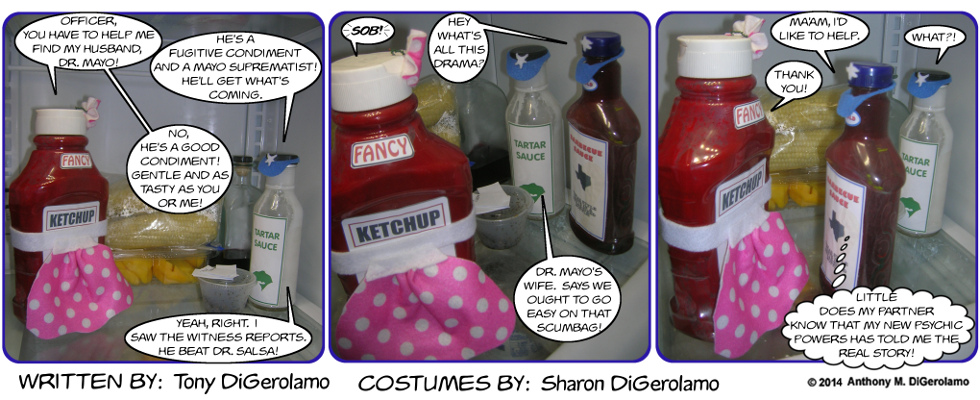 As the Mayo Turns:  Condiment Police