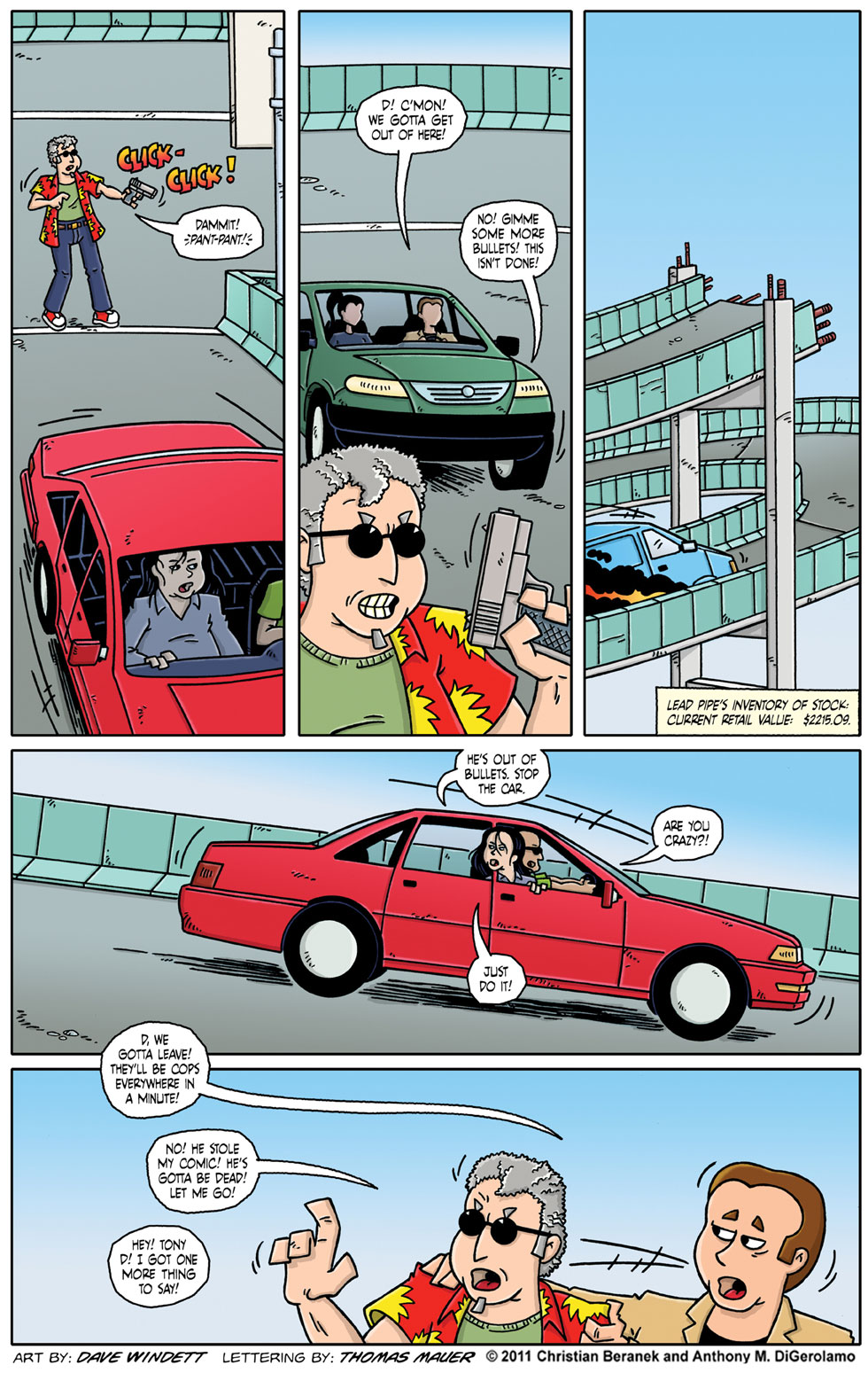 Comic Book Mafia #49:  The Fleeing Comic Stealer