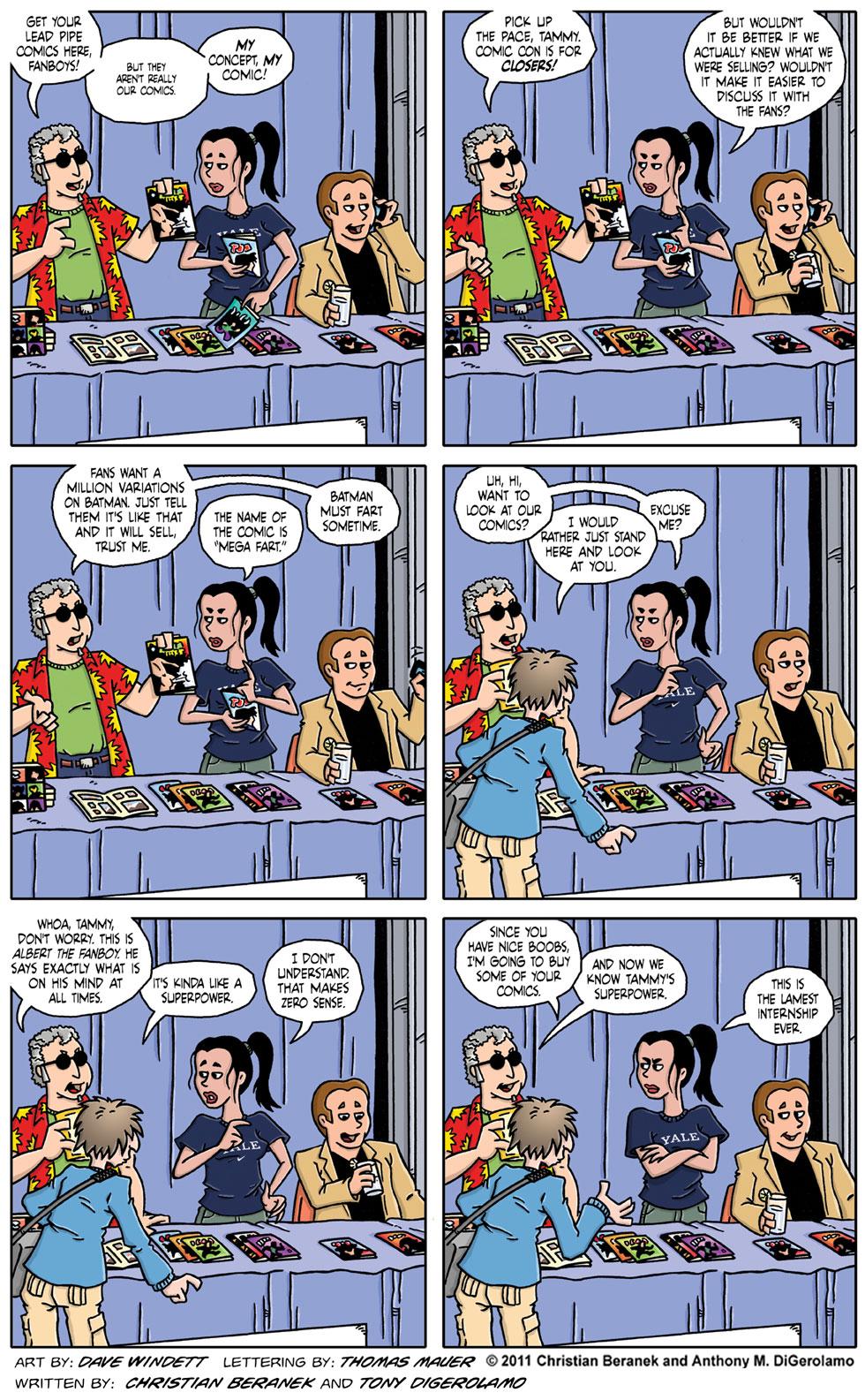Comic Book Mafia #54:  The Con is for Closers