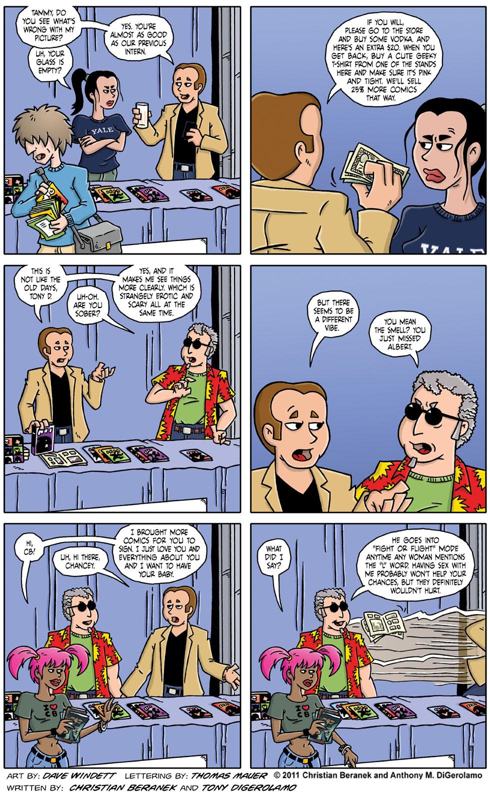 Comic Book Mafia #55:  Scary Word Balloon
