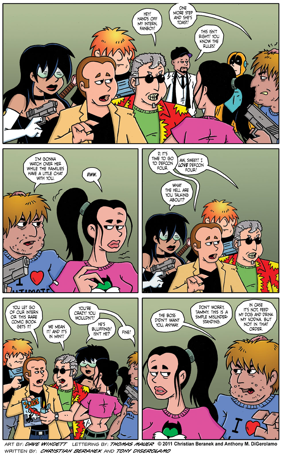 Comic Book Mafia #61: A  Little Chat