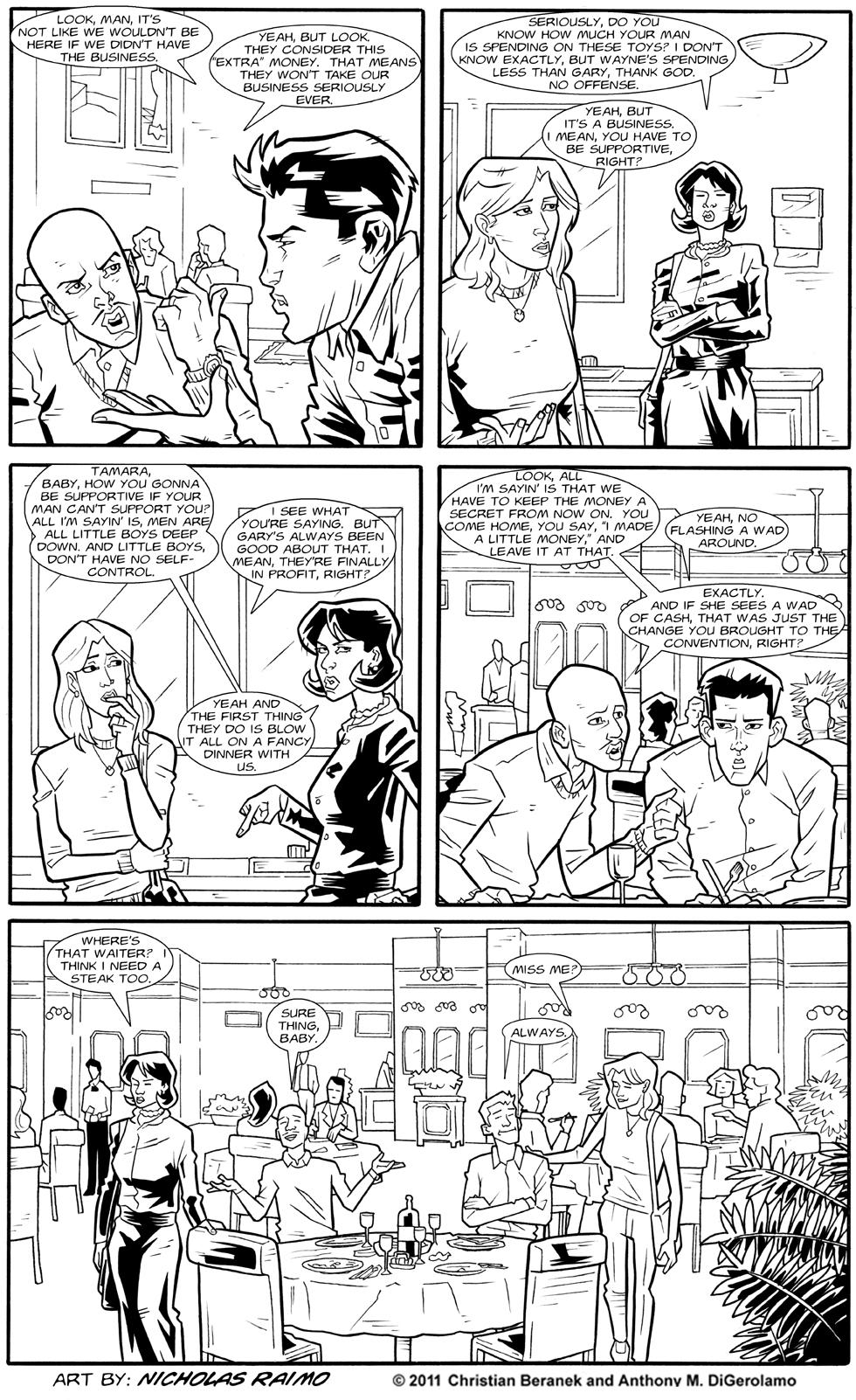 Dealers:  Gender Lines