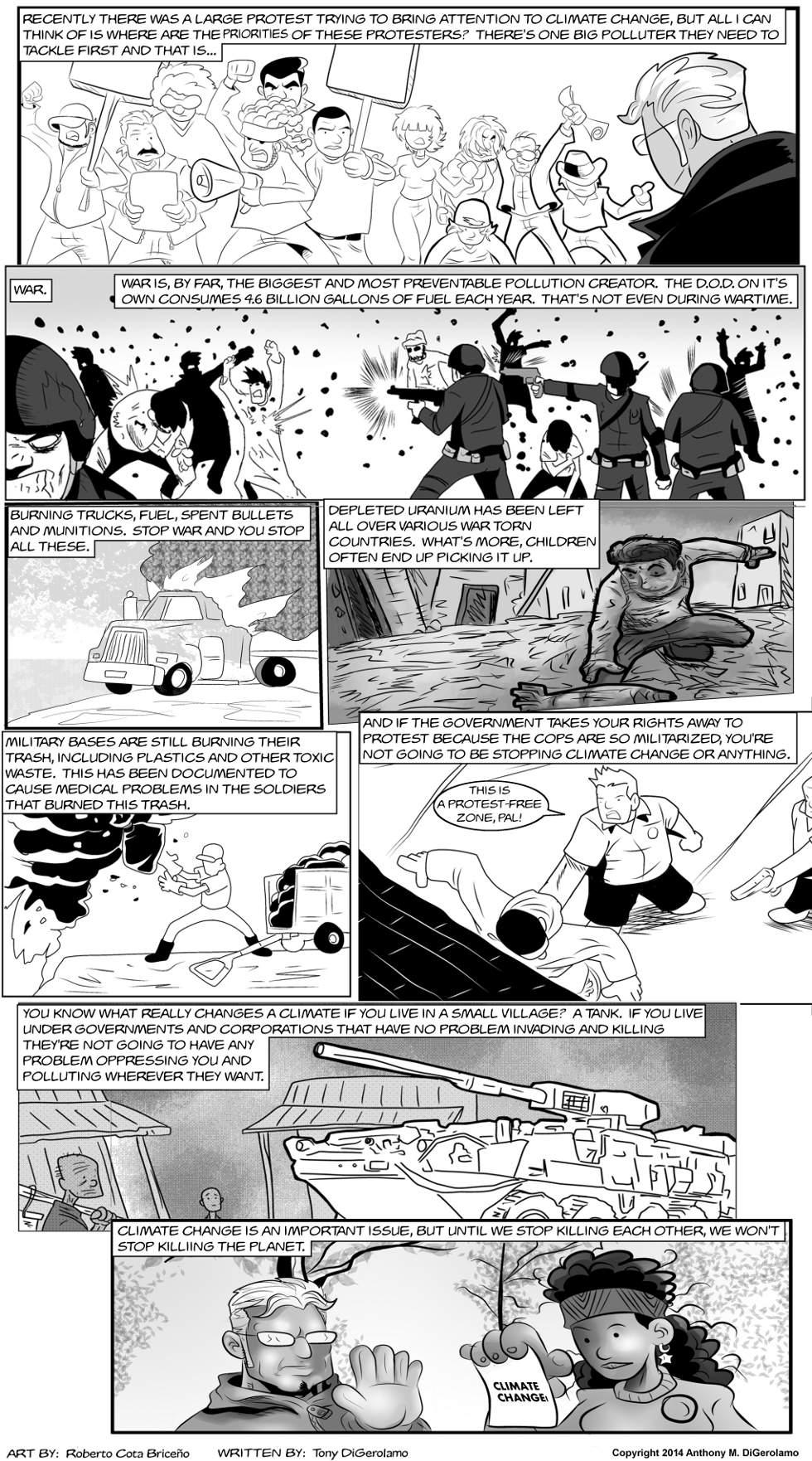 The Antiwar Comic:  Climate Priorities