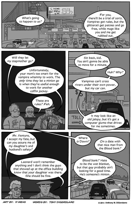 Lester Crenshaw is Dead:  Over the Bridge