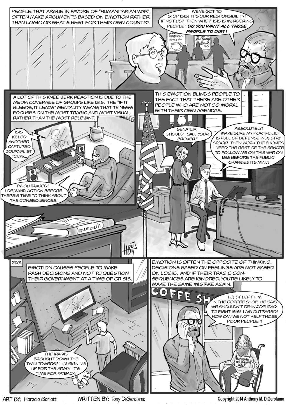 The Antiwar Comic:  History Repeats
