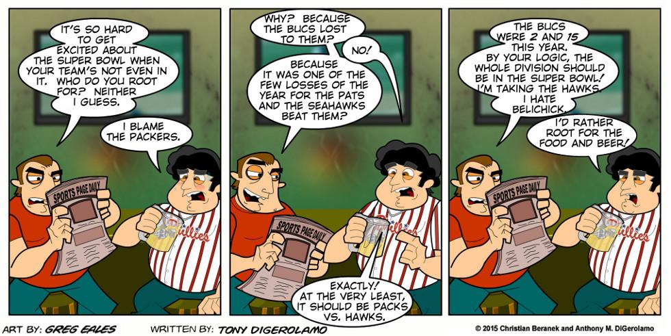 Sports Guys:  Super Bowl Blues
