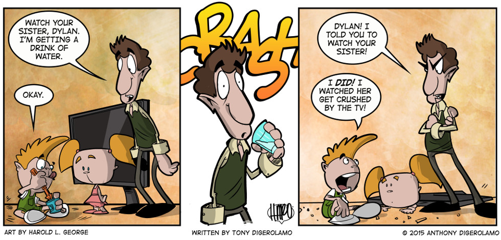 I Hate My Kids:  Baby Babysitter