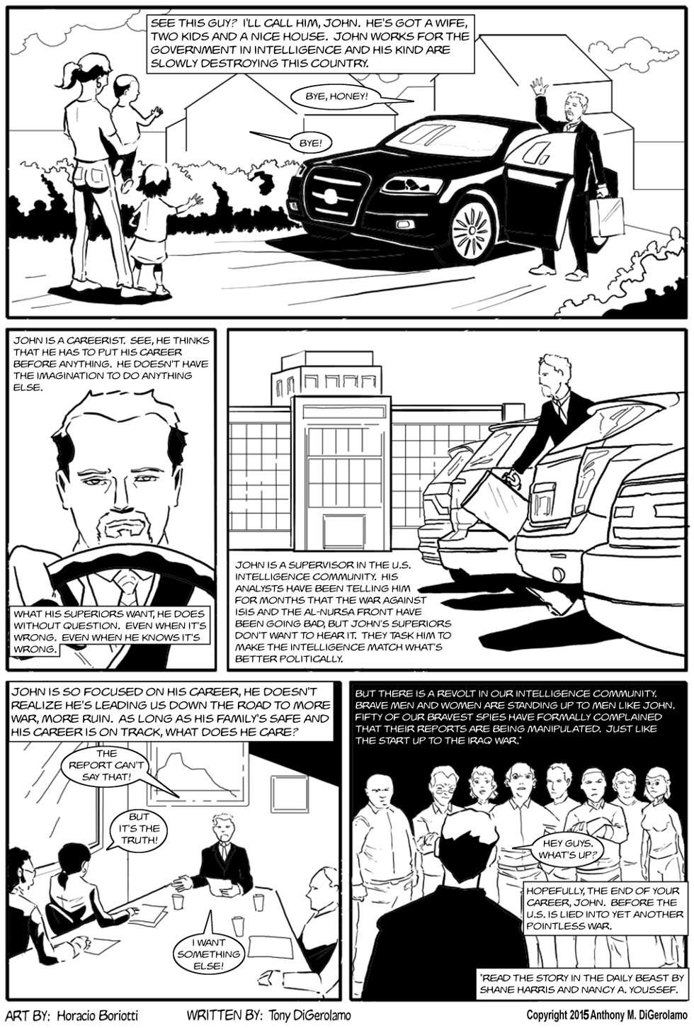 The Antiwar Comic:  The Careerist