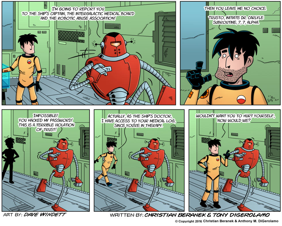 Intergalactic Medical Doctor:  The Hack
