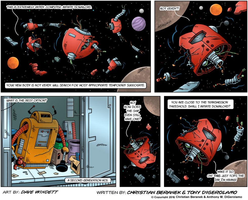 Intergalactic Medical Doctor:  Robot Surrogate