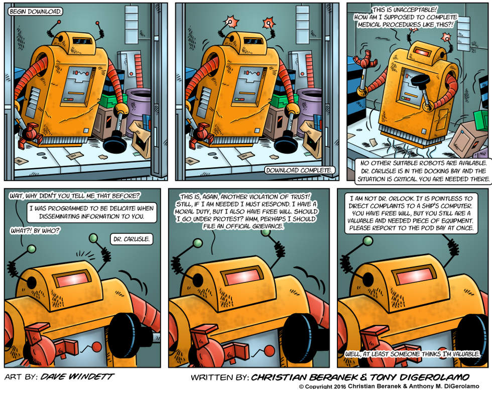 Intergalactic Medical Doctor:  Robot Rescuer