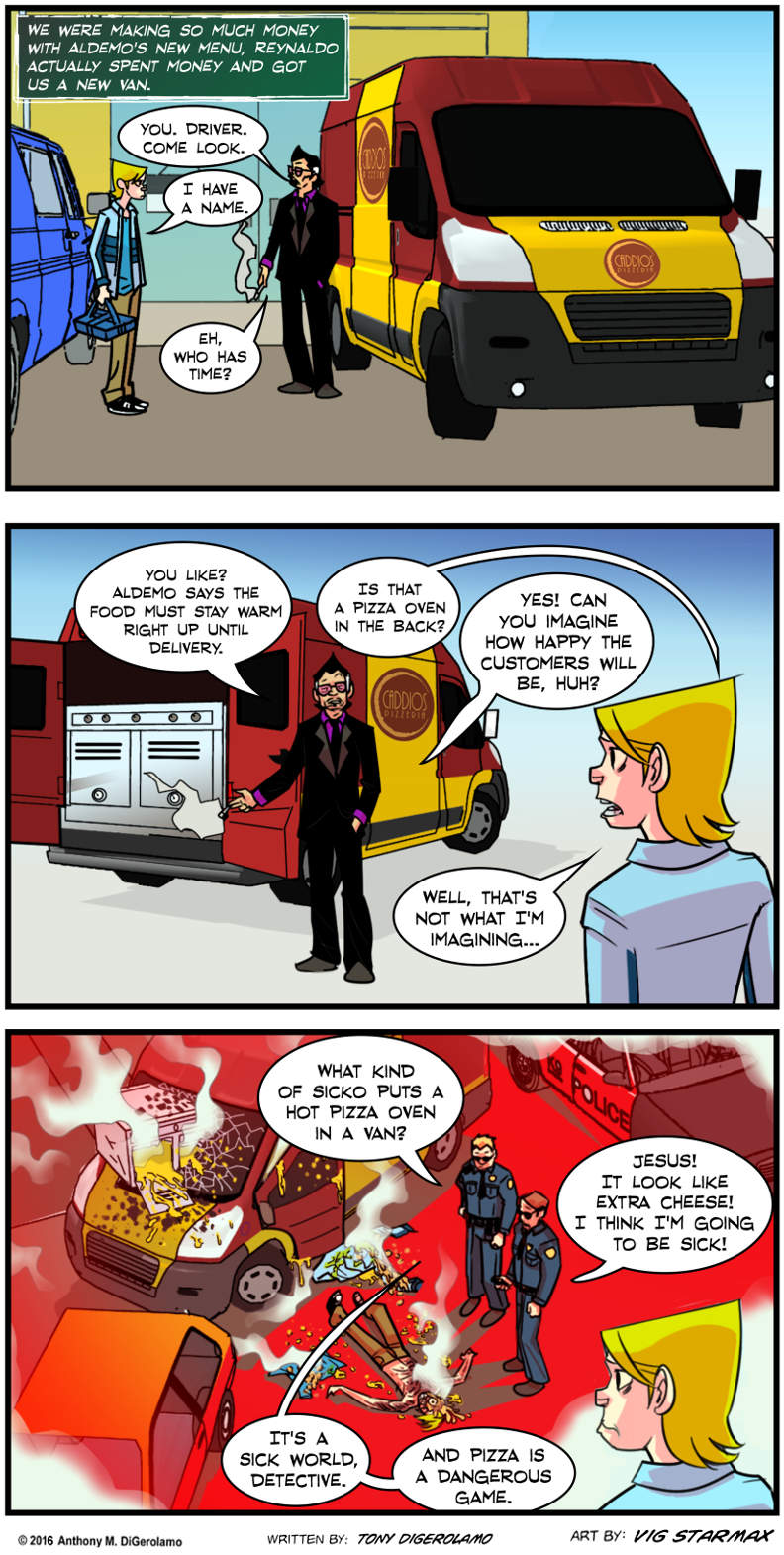 Tales of Pizza:  The Pizza Police