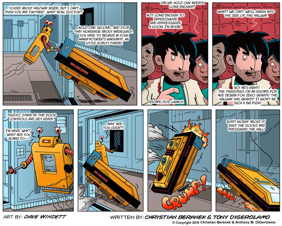 Intergalactic Medical Doctor:  Gravity is Tricky