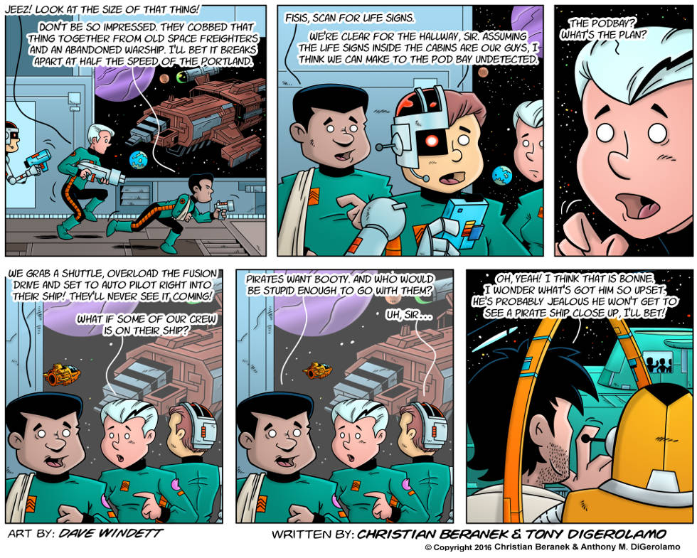 Intergalactic Medical Doctor:  No One's That Stupid
