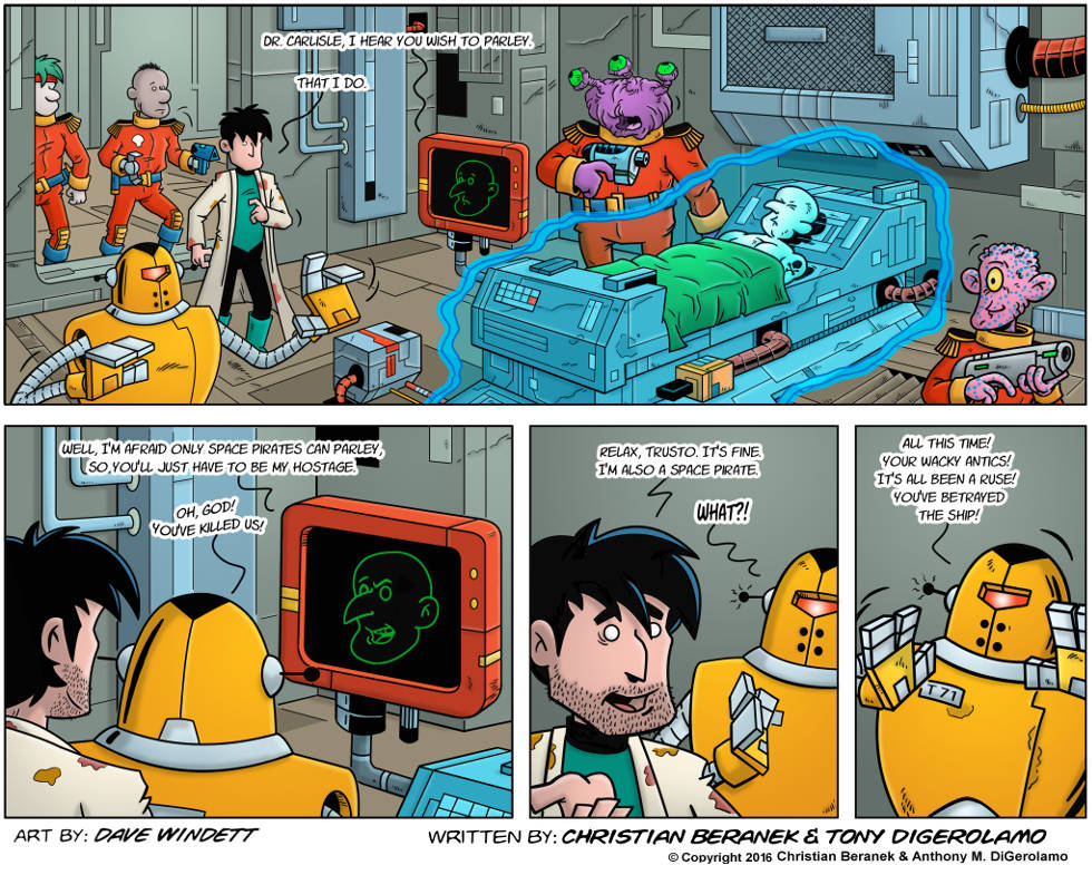 Intergalactic Medical Doctor:  Space Pirate Parley