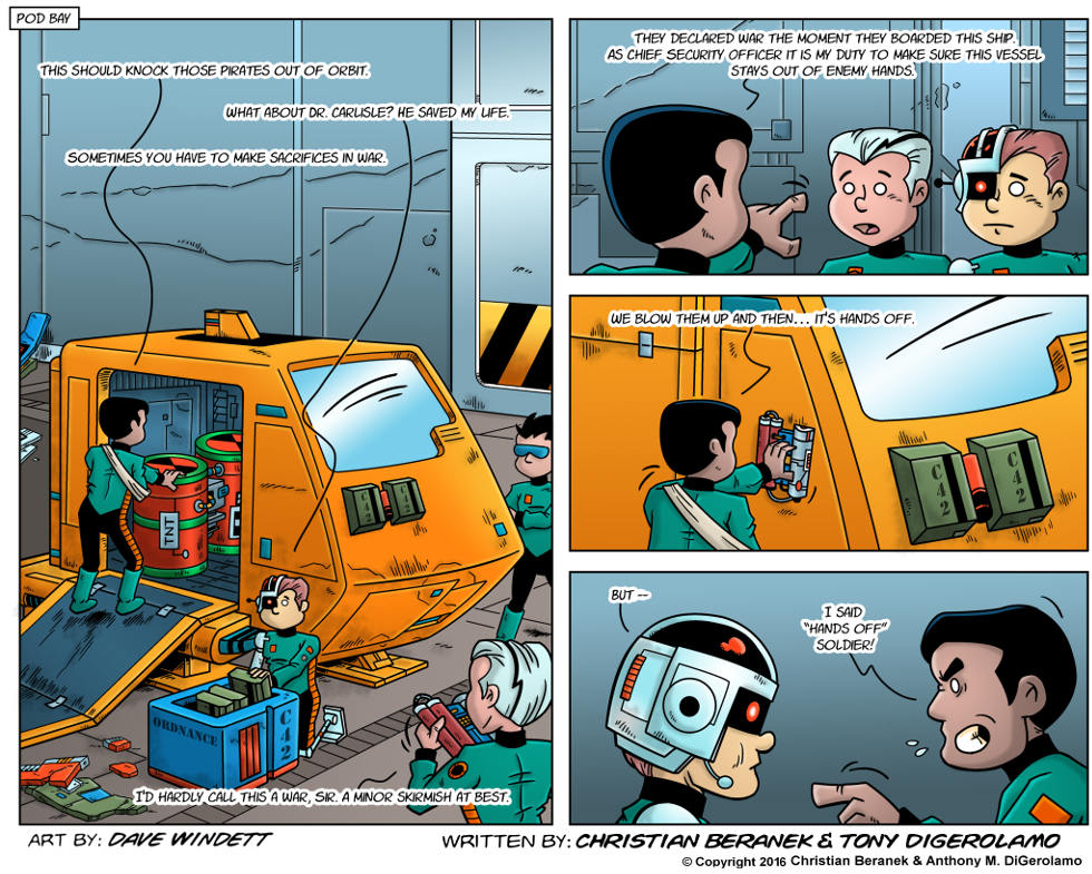 Intergalactic Medical Doctor:  Spaceship Surprise