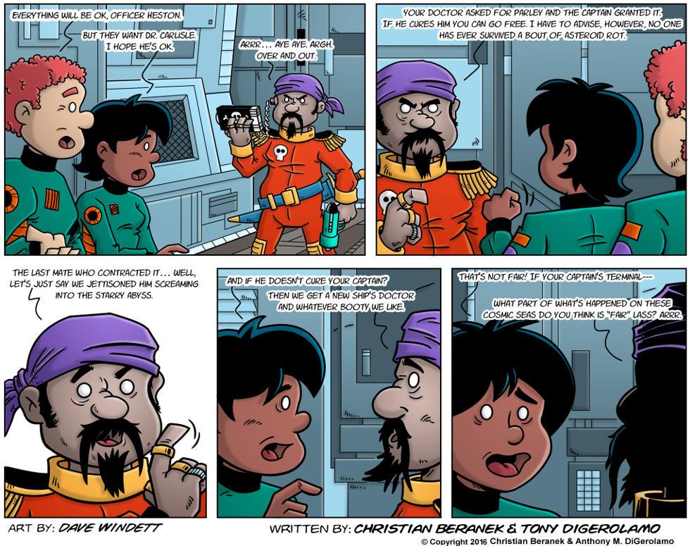 Intergalactic Medical Doctor:  Fair Pirates