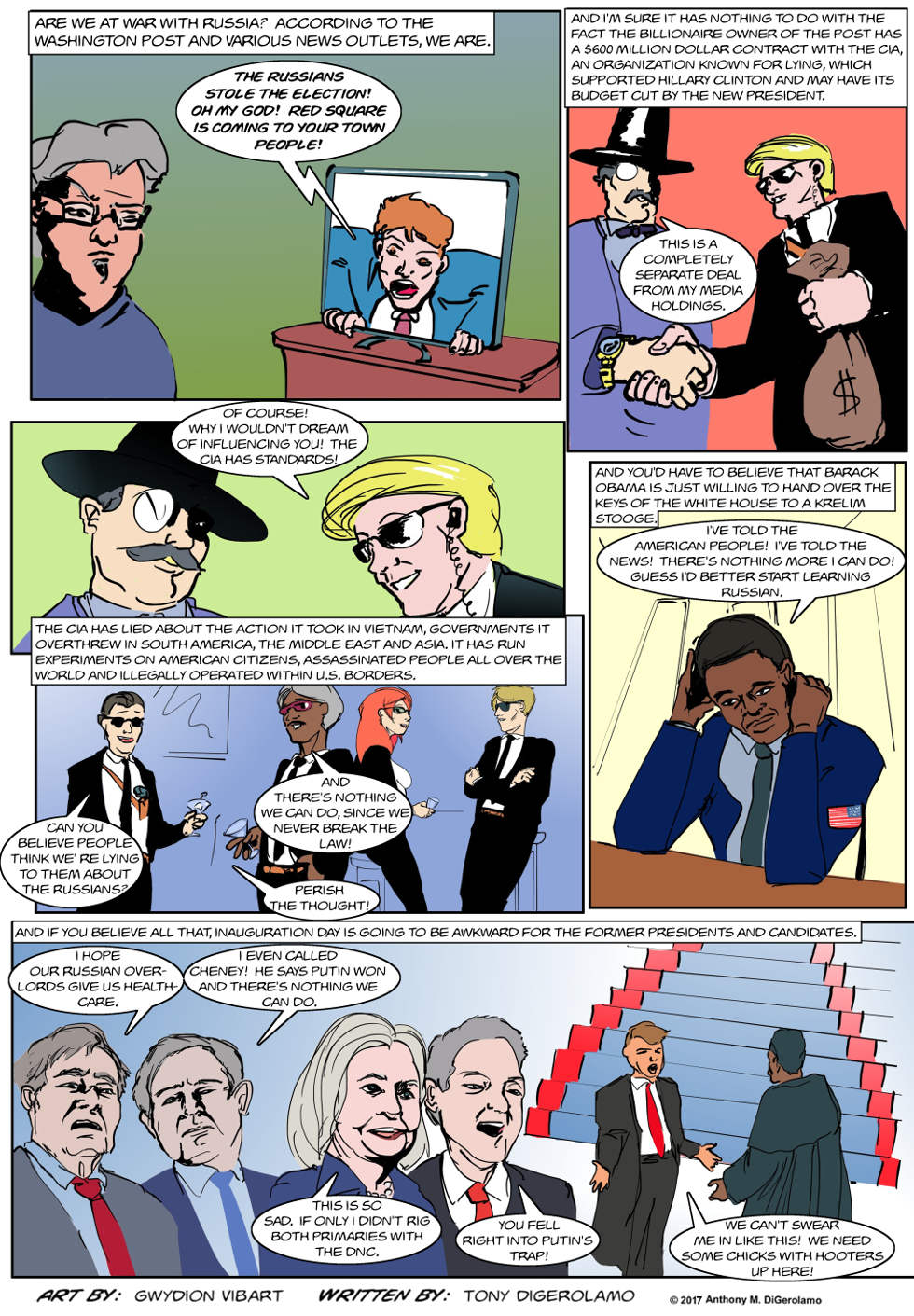 The Antiwar Comic:  The Russians Are Coming!