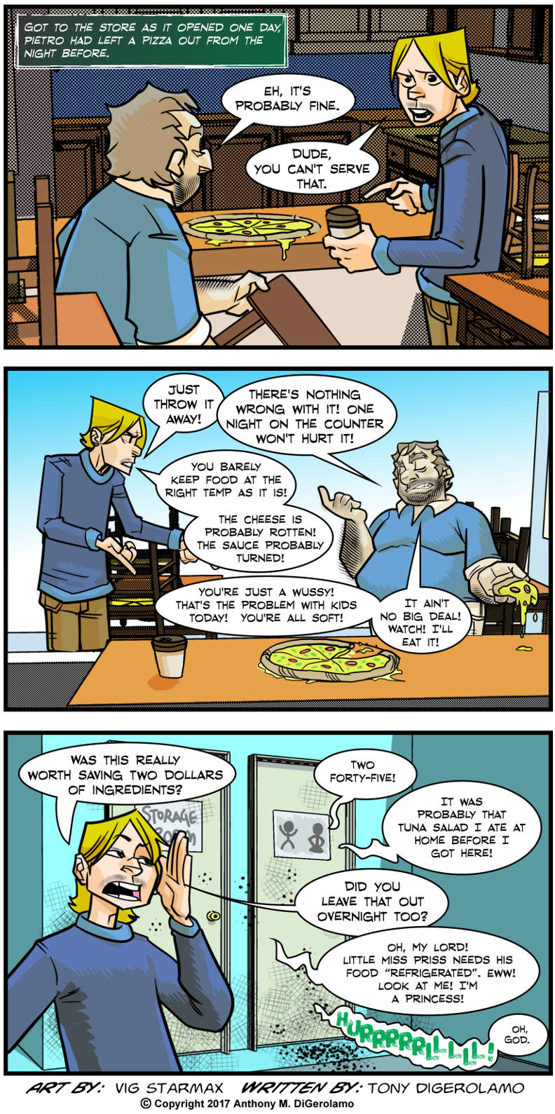 Tales of Pizza:  How a Boss Saves Money