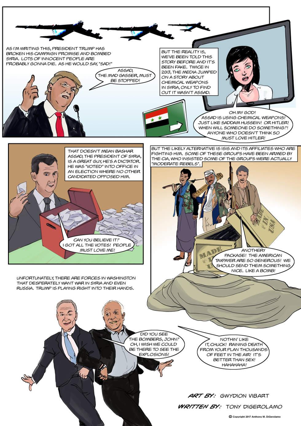 The Antiwar Comic:  No Good Guys