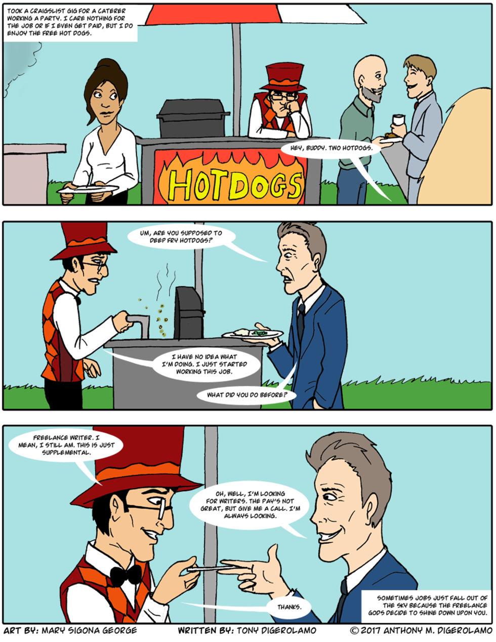 digital hobo:  The Freelance Gods