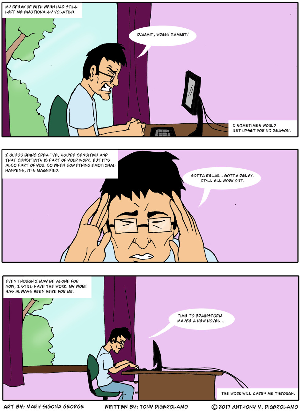 digital hobo:  The Work Saves