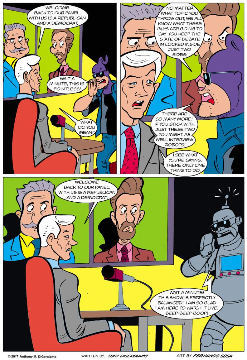 Tony Destructo:  The Argument Box