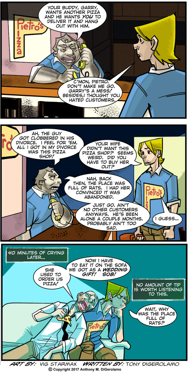 Tales of Pizza:  The Tough Tip