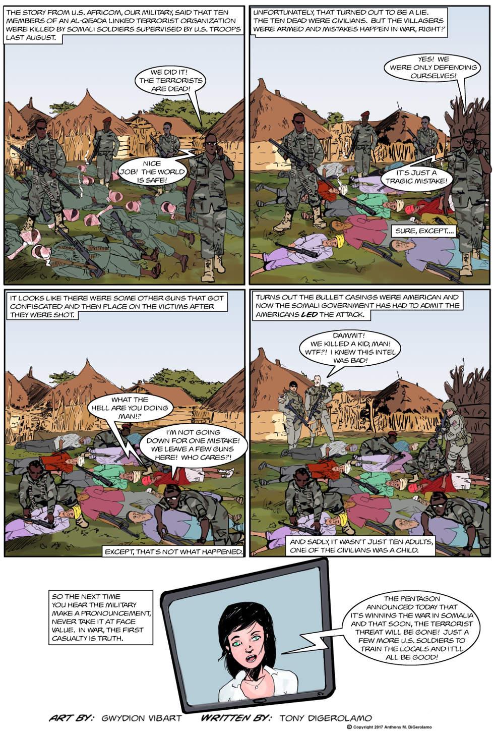 "The Antiwar Comic:  The ""Terrorists"" Are Dead"