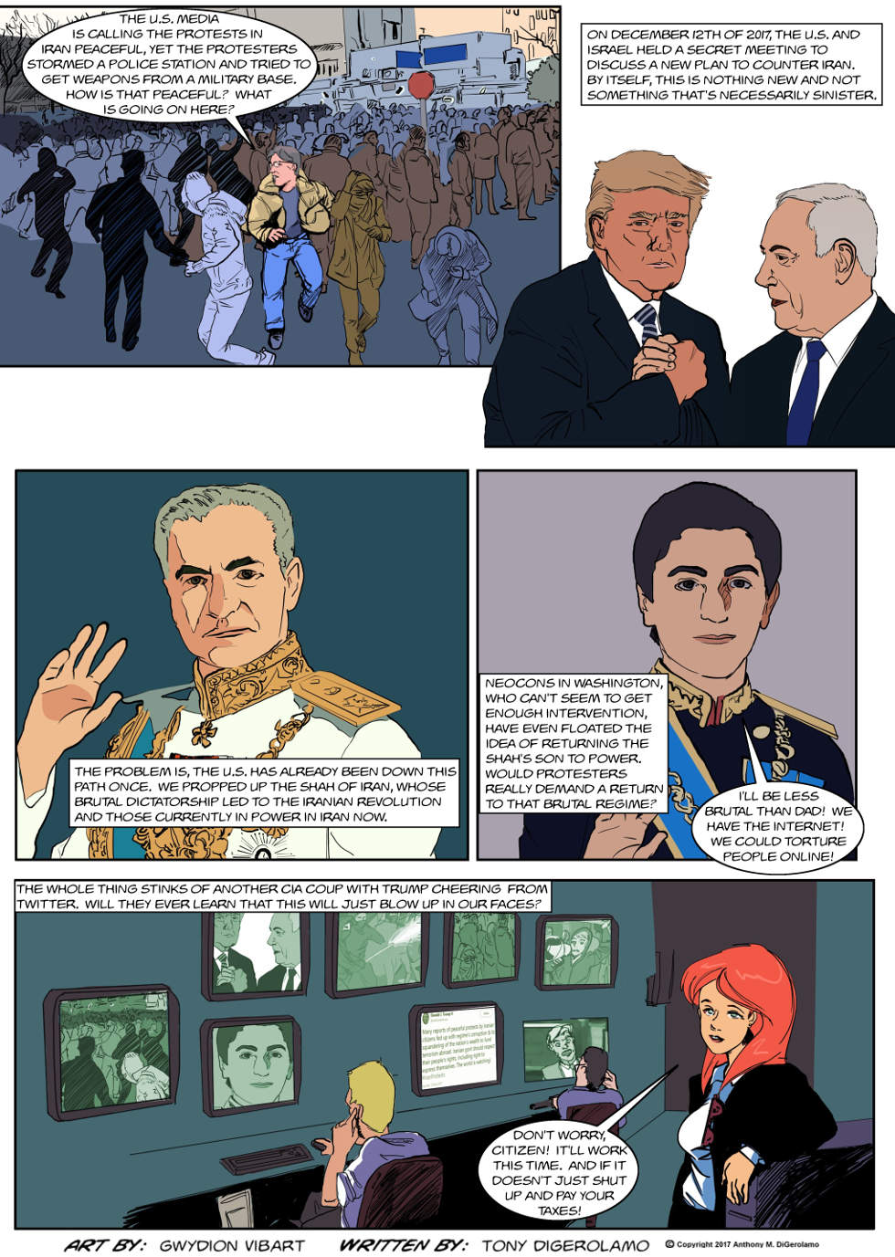 The Antiwar Comic:  The Iran Repeat?