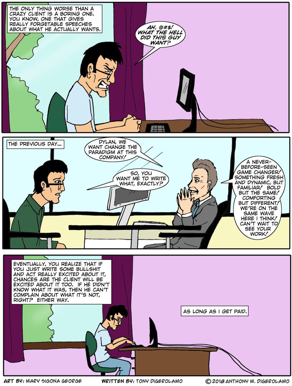 digital hobo:  Boring Client