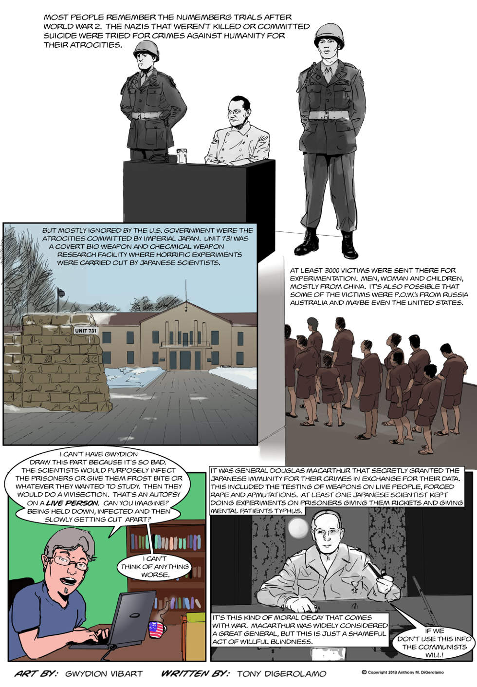 The Antiwar Comic:  Unit 731