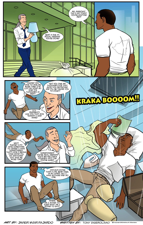 Herman Has Superpowers:  Rock Bottom Hero