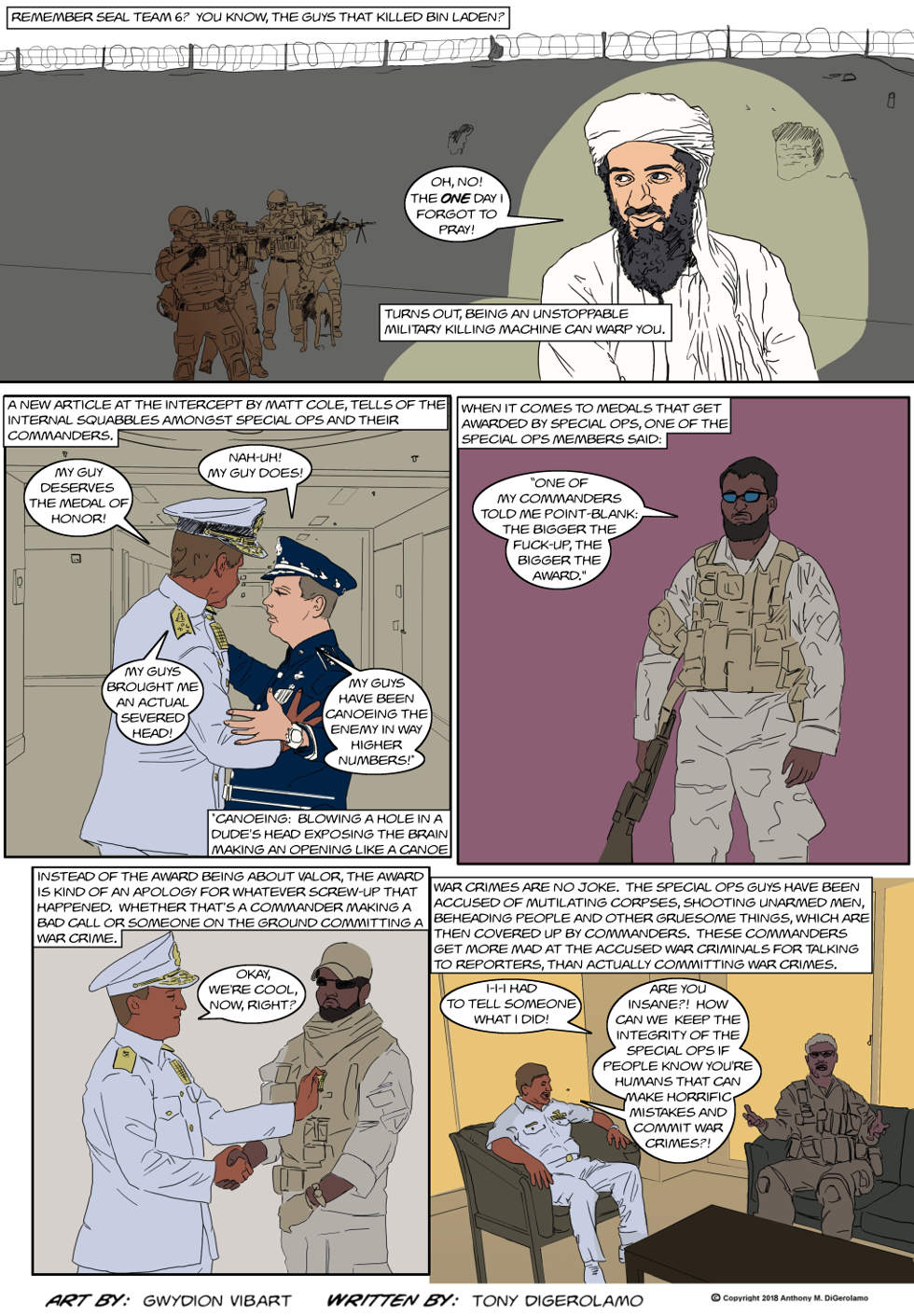 The Antiwar Comic:  Not-So-Special Ops