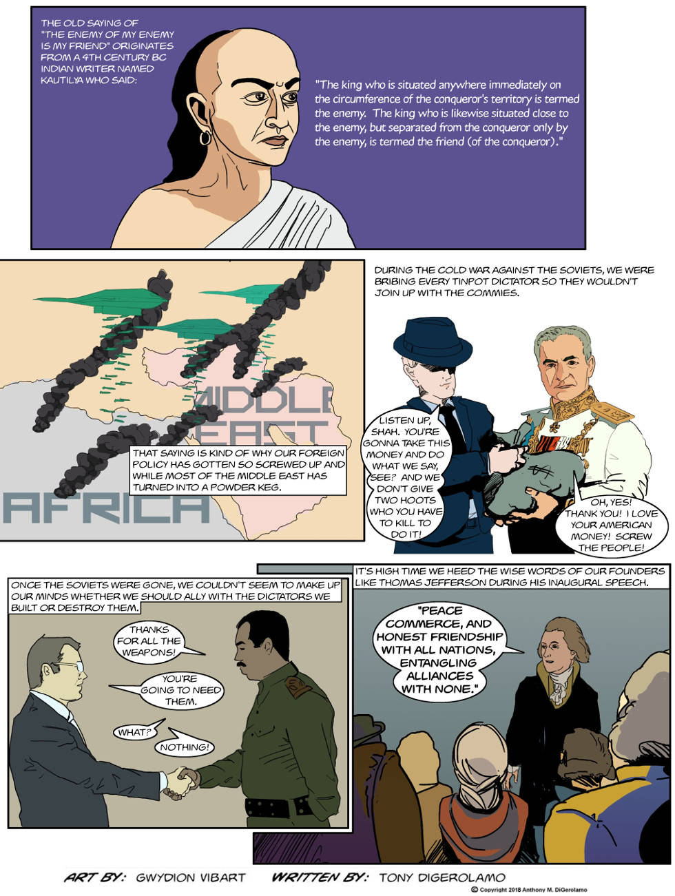 The Antiwar Comic:  With Enemies Like These…