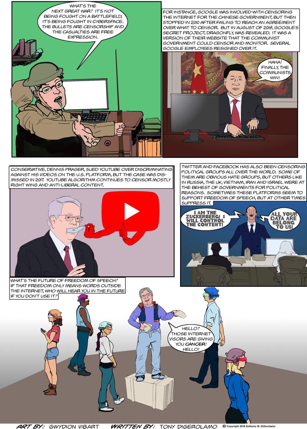 The Antiwar Comic:  The Next Great War