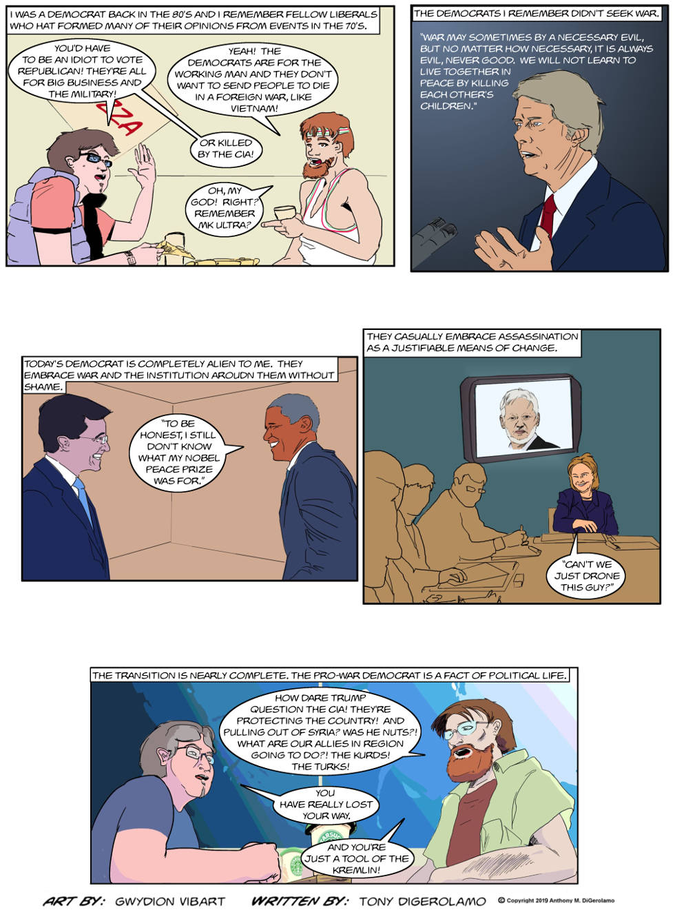 The Antiwar Comic: The Transformation