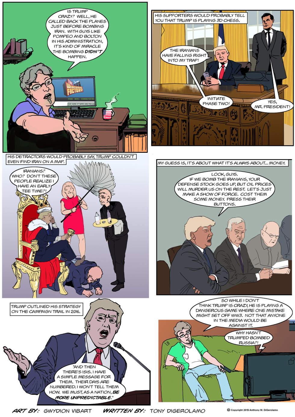 The Antiwar Comic: Dangerous Strategy