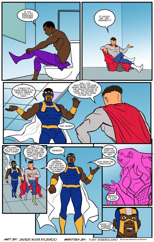 Herman Has Superpowers:  You've Met Her Before