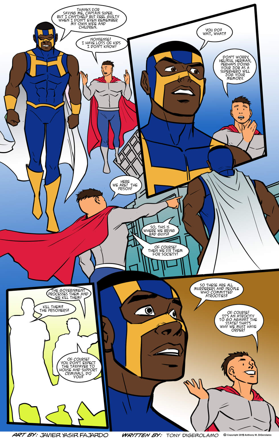 Herman Has Superpowers:  What Superheroes Do
