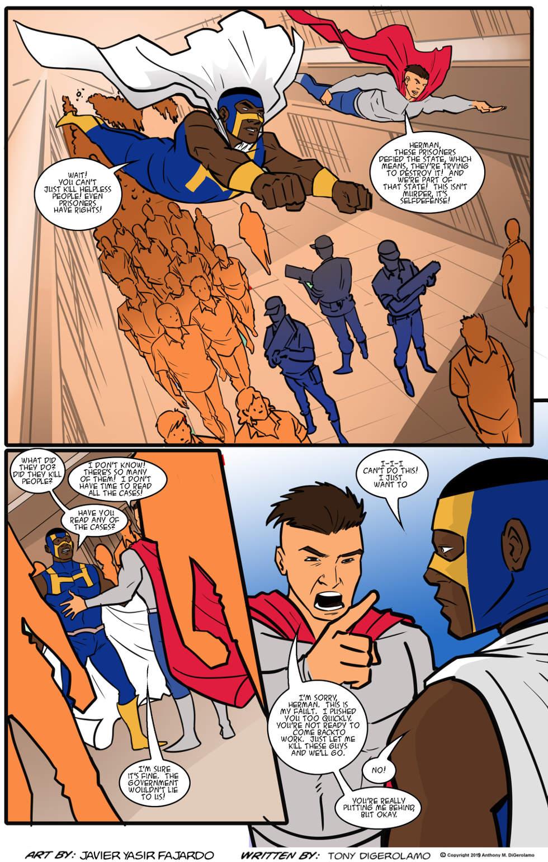 Herman Has Superpowers:  Putting Him Behind