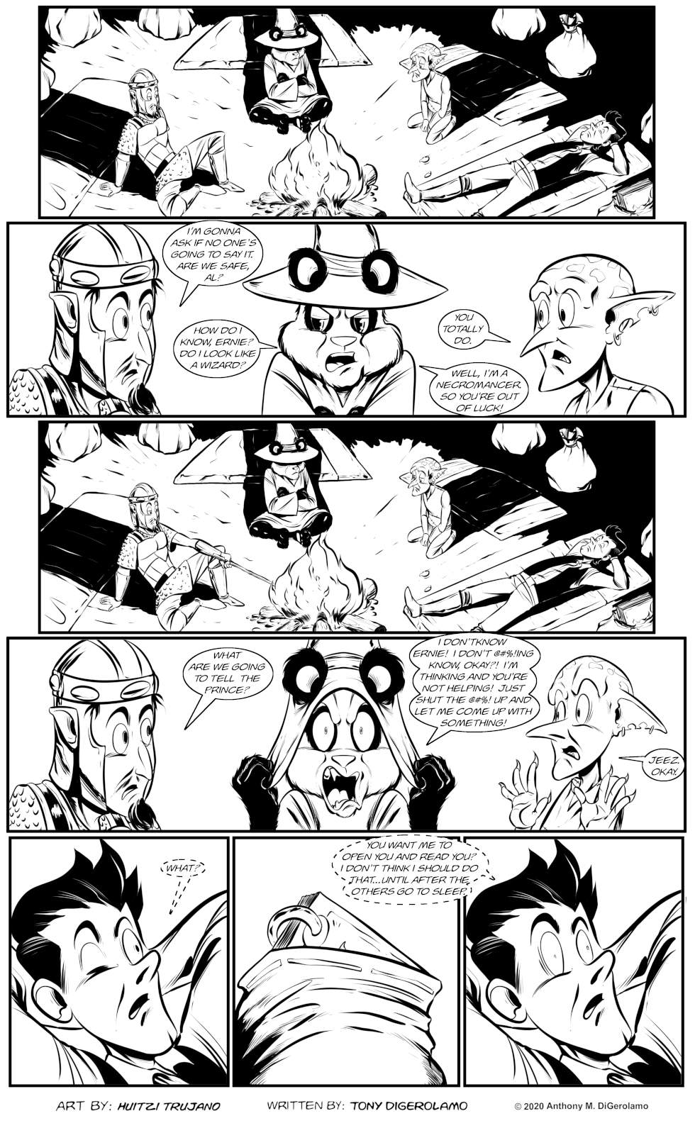 Pandamodium:  The Book Whispers